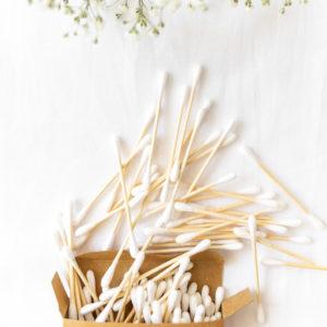 betisoare de urechi bambus